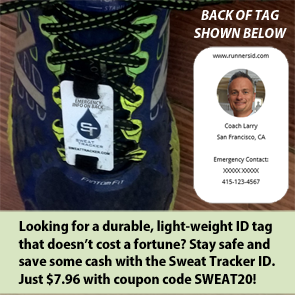 Stay safe with a Sweat Tracker ID...